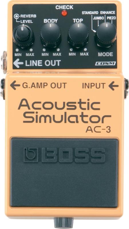 【予約販売】本 BOSS AC-3 AC-3 BOSS アコースティックシミュレーター エフェクター, 田沼町:21b7005c --- oflander.com