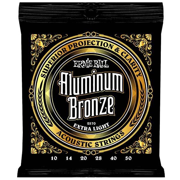 ストア アーニーボール アコースティックギター弦 10-50 ERNIE BALL 購買 Extra Bronze 2570 Light Aluminum