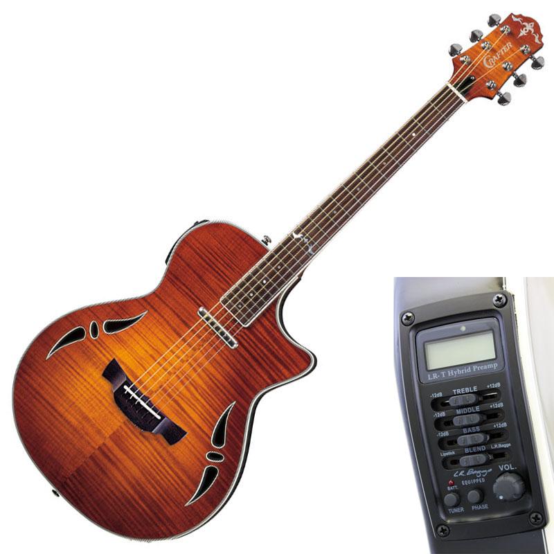 CRAFTER SA-TM Vintage Sunburst エレクトリックアコースティックギター