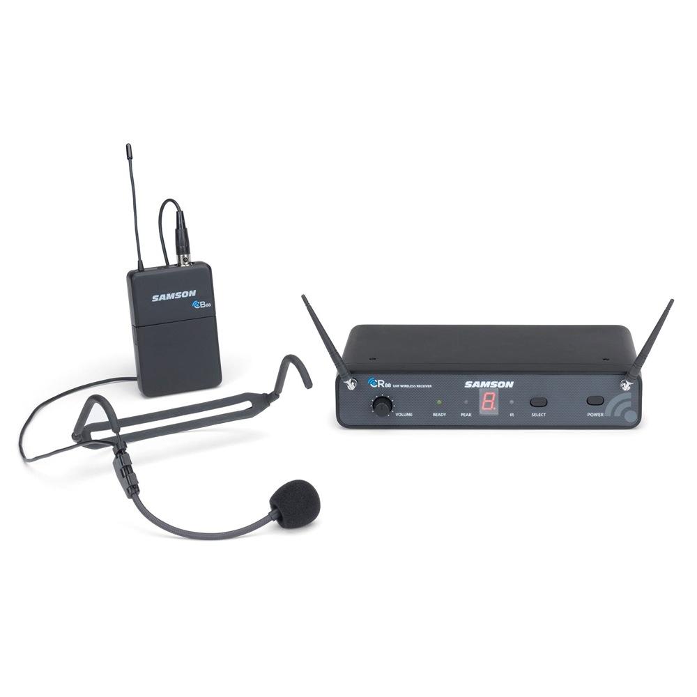 SAMSON Concert 88 Headset ESWC88BHS5J-B ヘッドセット ワイヤレスマイクシステム