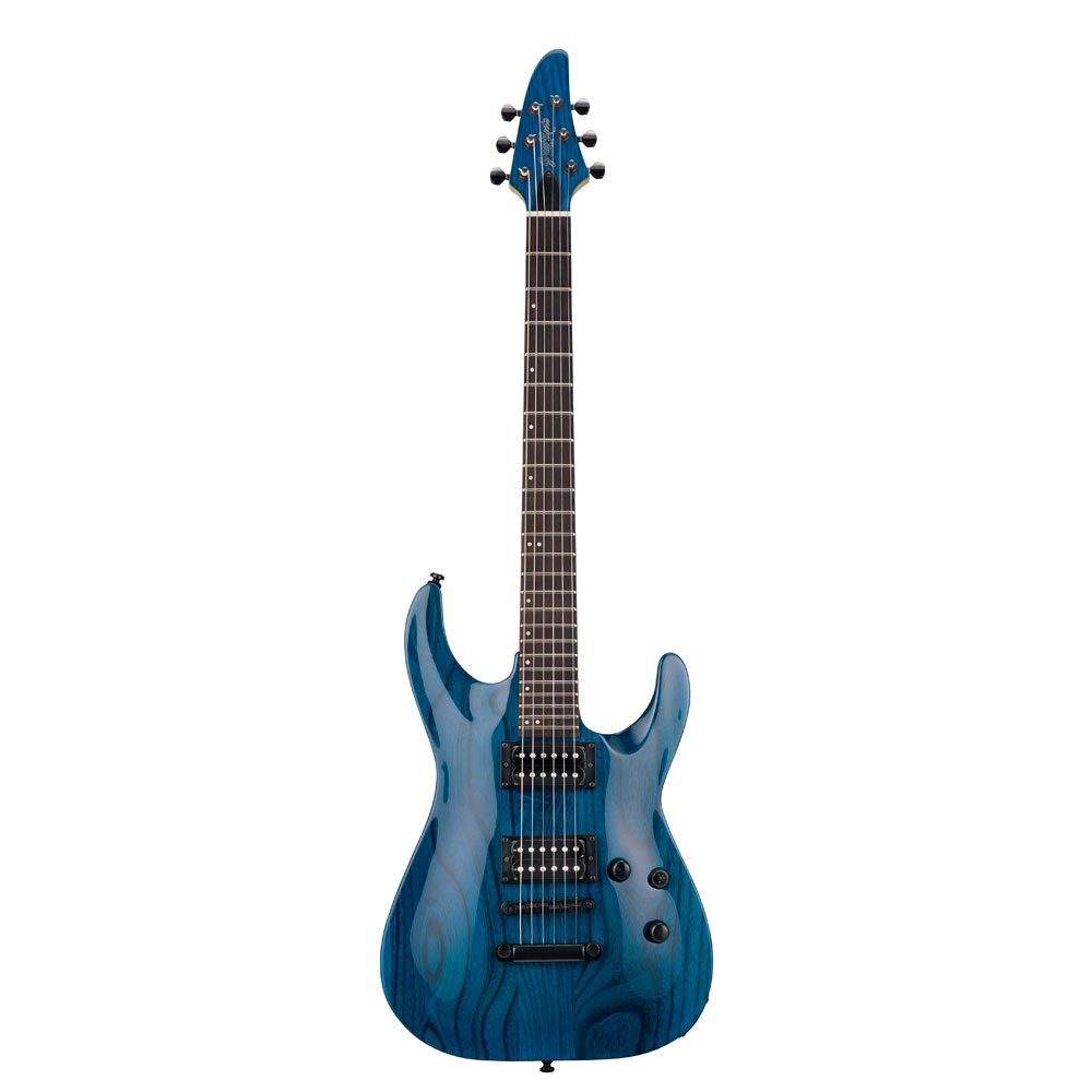 GrassRoots G-HR-42NT Burner See Thru Blue エレキギター