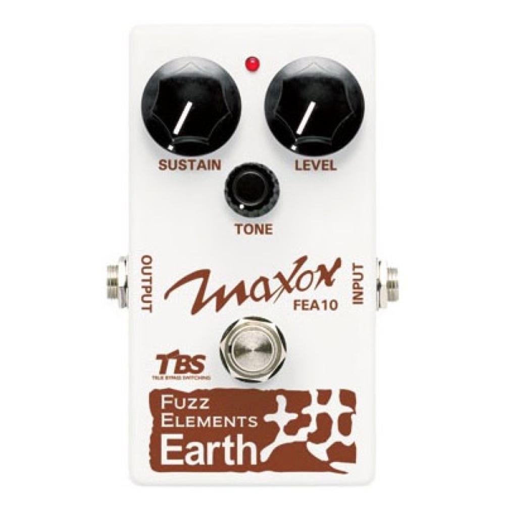 MAXON Fuzz Elements Earth 地 FEA10 ギターエフェクター