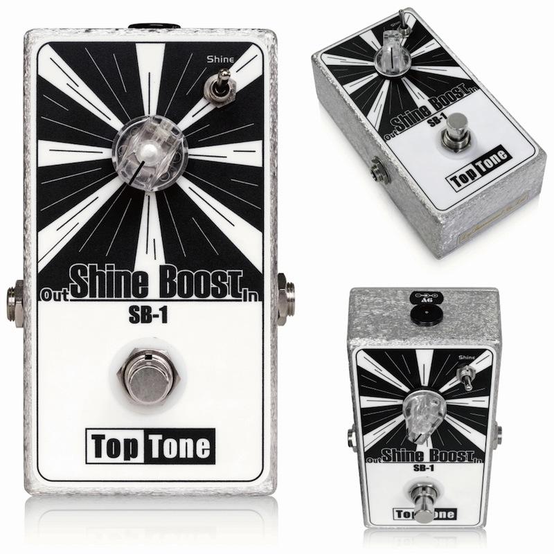 TopTone Shine Boost SB-1 ブースター エフェクター