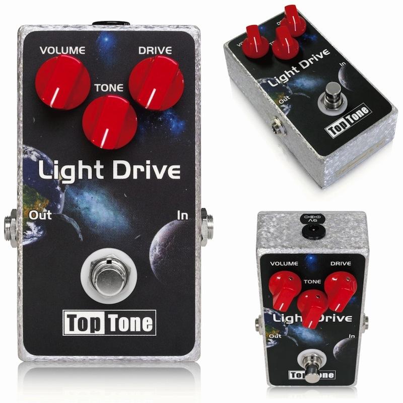 TopTone Light Drive オーバードライブ エフェクター