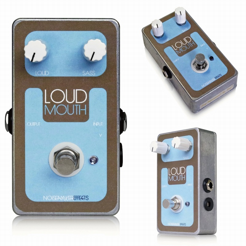 Noisemaker Effects Loudmouth ブースター エフェクター