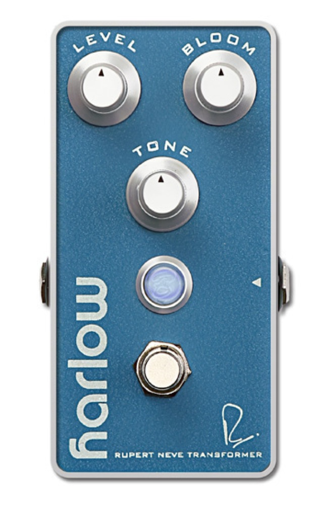 Bogner HARLOW RUPERT NEVE DESIGNS BOOST With BLOOM ギターエフェクター