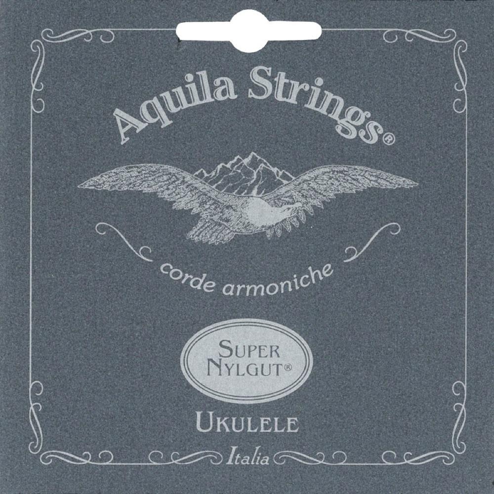 激安特価品 アクィーラ スーパーナイルガット コンサートウクレレ用 AQUILA Nylgut Super コンサートウクレレ弦 AQS-CR 正規認証品 新規格