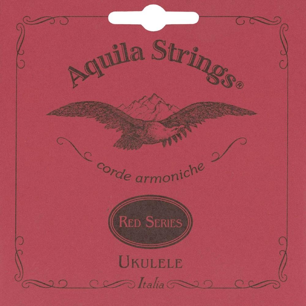 アクィーラ レッドシリーズ コンサートウクレレ用 AQUILA 本物 コンサートウクレレ弦 Red AQR-CR 新入荷 流行 Series