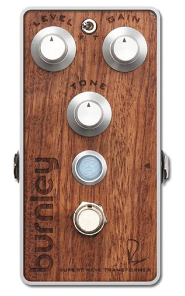 Bogner BURNLEY RUPERT NEVE DESIGNS DISTORTION Bubinga exotic hardwood top panel