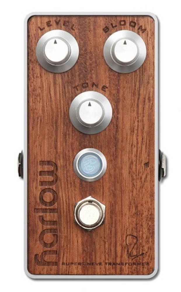 Bogner HARLOW RUPERT NEVE DESIGNS BOOST With BLOOM Bubinga exotic hardwood top panel