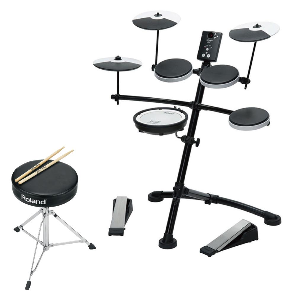 ROLAND TD-1KV V-Drumコンパクト エレクトリックドラム 【ドラム用イスとドラム・スティック キャンペーン】