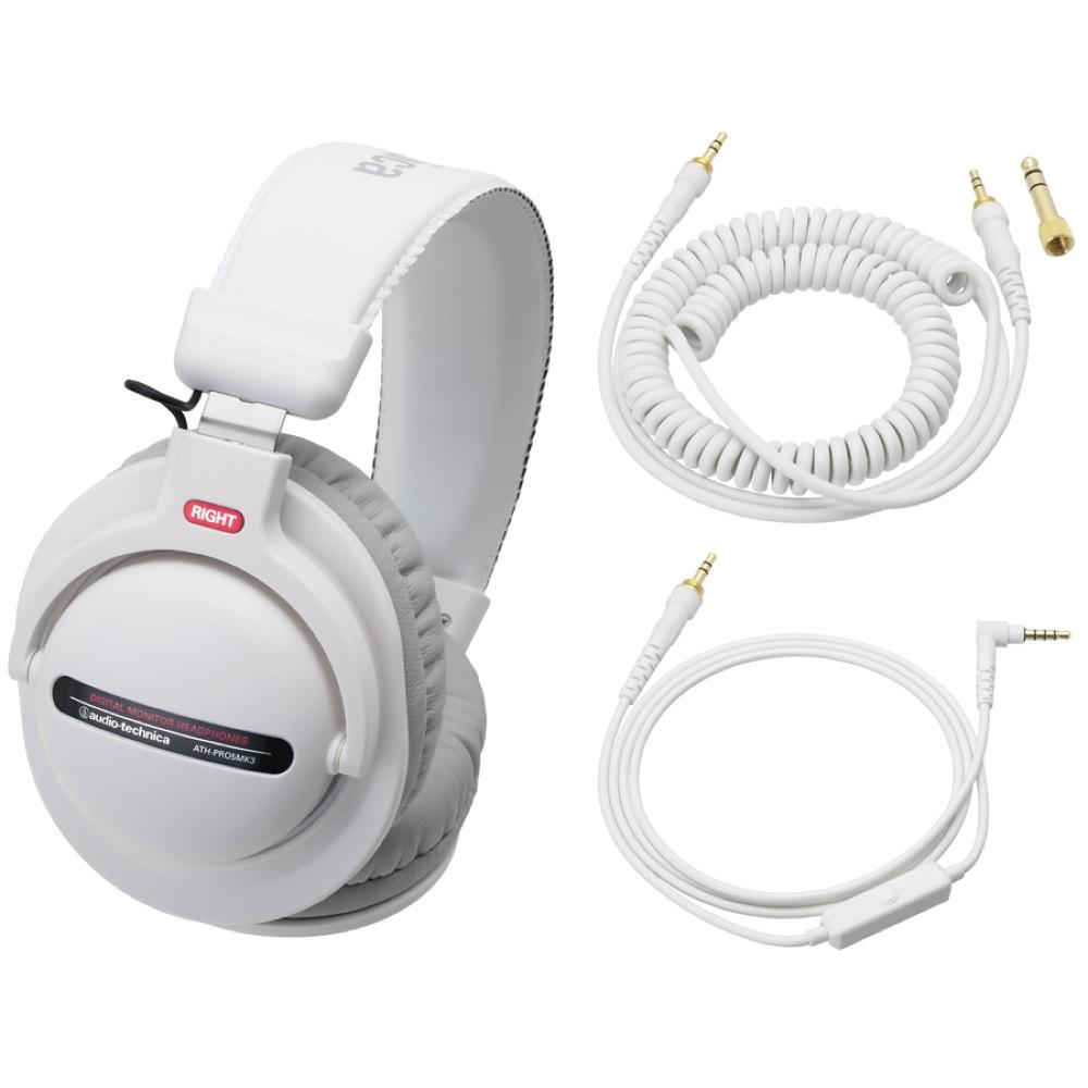 AUDIO-TECHNICA ATH-PRO5MK3 WH DJヘッドホン