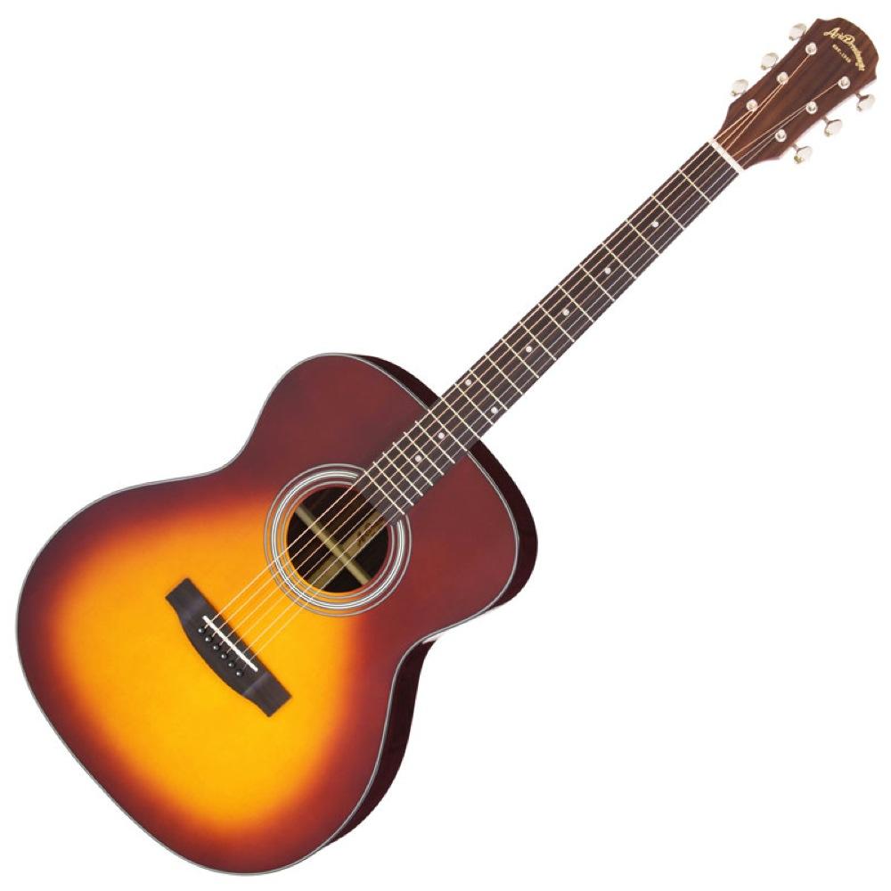 アリア スプルース単板トップ ピックガード付属 ARIA AF-205 TS アコースティックギター