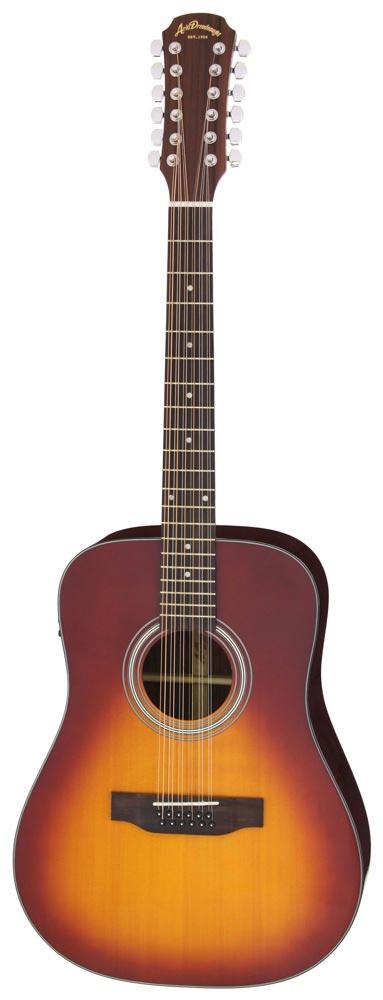 ARIA AD-215/12 TS 12弦エレクトリックアコースティックギター