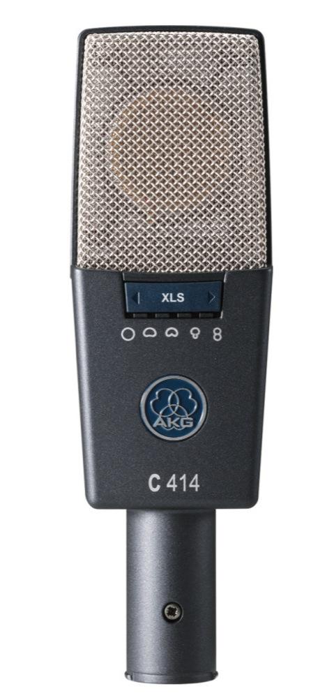 AKG C414 XLS サイドアドレス型 コンデンサーマイクロホン