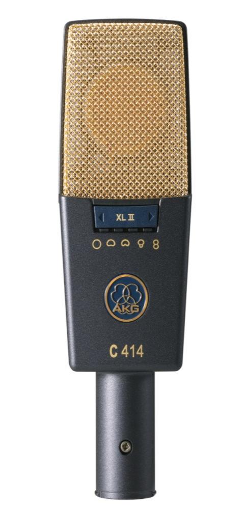 AKG C414 XL II サイドアドレス型 コンデンサーマイクロホン