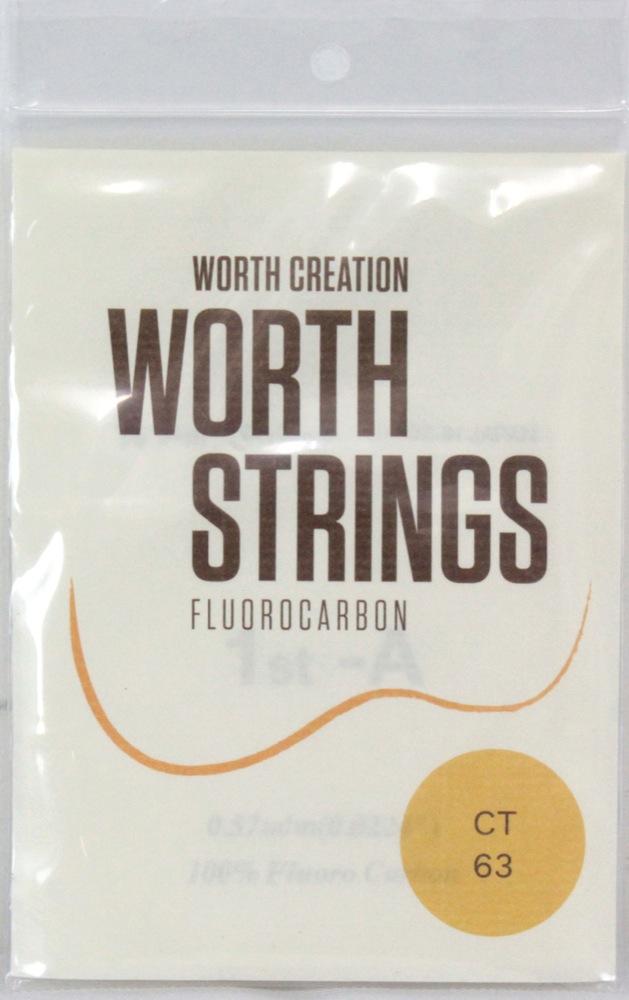 ワースストリングス クリアフロロカーボン テナーウクレレ弦 Worth CT Strings 人気ショップが最安値挑戦 Tenor 限定特価