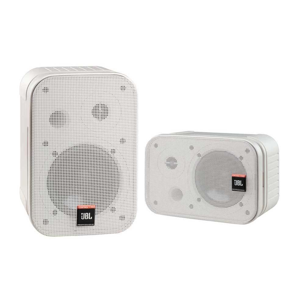モニタークオリティの高音質を手軽に導入できる小型スピーカー JBL PROFESSIONAL 本日限定 Control 1 激安 激安特価 送料無料 2Way ペア PRO-WH フルレンジ小型スピーカー