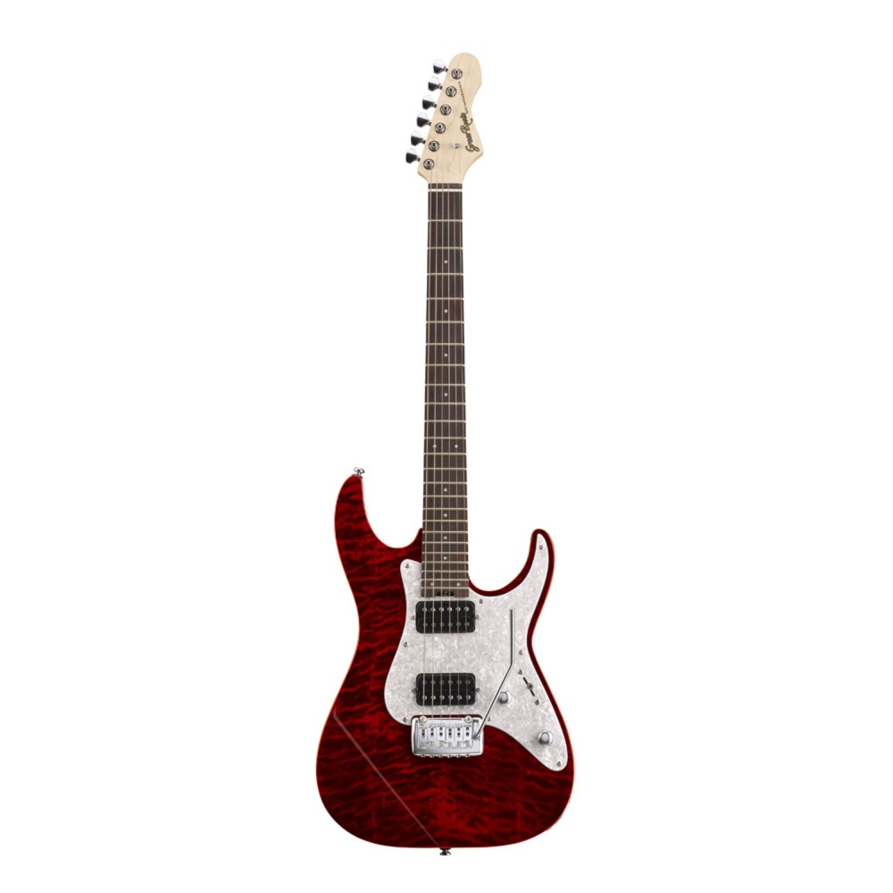 GrassRoots G-MR-45R See Thru Red エレキギター