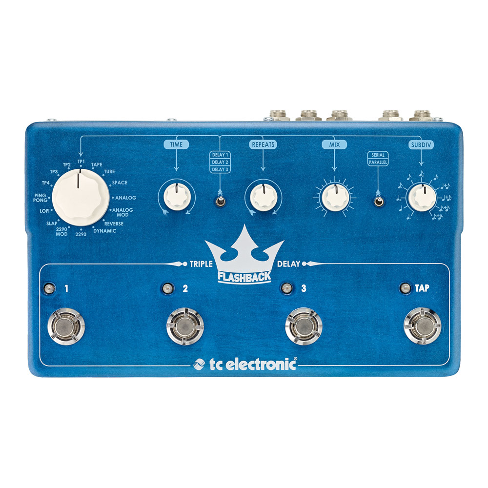 tc electronic Flashback Triple Delay ディレイ ギターエフェクター