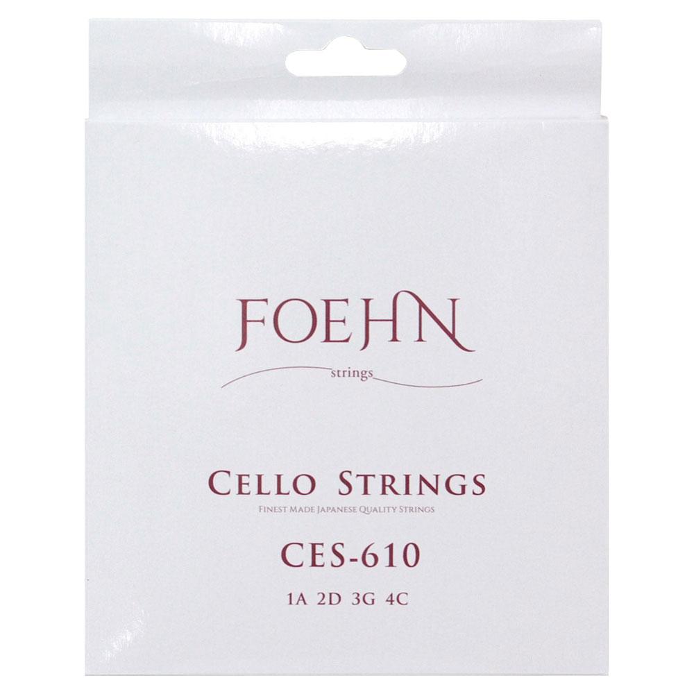 フェーン チェロ弦 4/4サイズ用 FOEHN CES-610 Cello Strings 4/4 チェロ弦