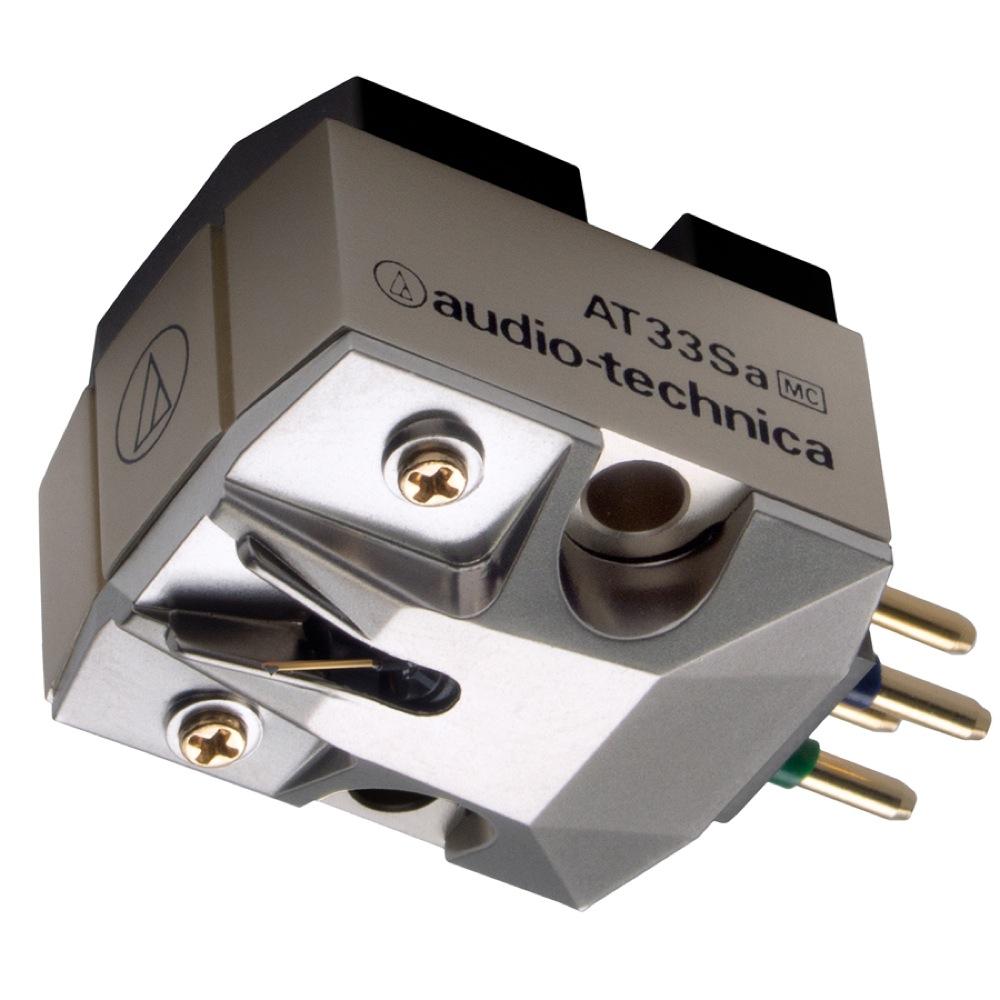 AUDIO-TECHNICA AT33Sa MC型(デュアルムービングコイル)ステレオカートリッジ