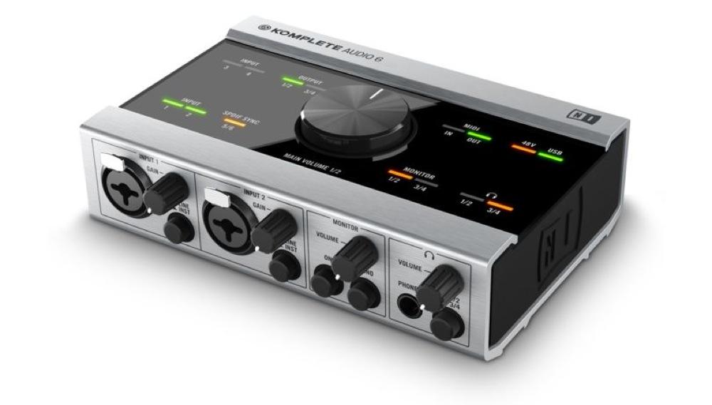 NATIVE INSTRUMENTS KOMPLETE AUDIO 6 USBオーディオインターフェイス