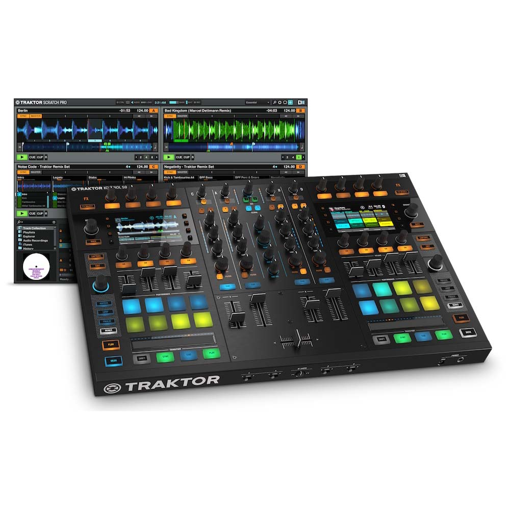 NATIVE INSTRUMENTS TRAKTOR KONTROL S8 DJコントローラー