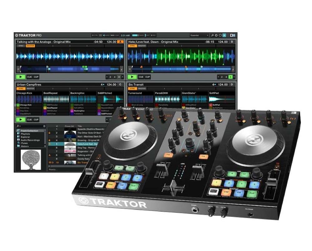 NATIVE INSTRUMENTS TRAKTOR KONTROL S2 MK2 DJコントローラー