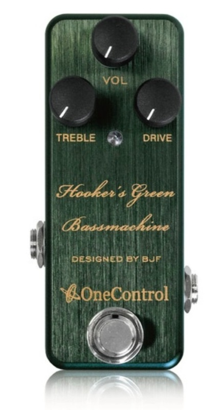 One Control Hooker's Green Bass Machine ベース用エフェクター