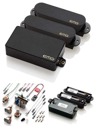 EMG EMG-SSH SA/SA/85 BLACK エレキギター用ピックアップ