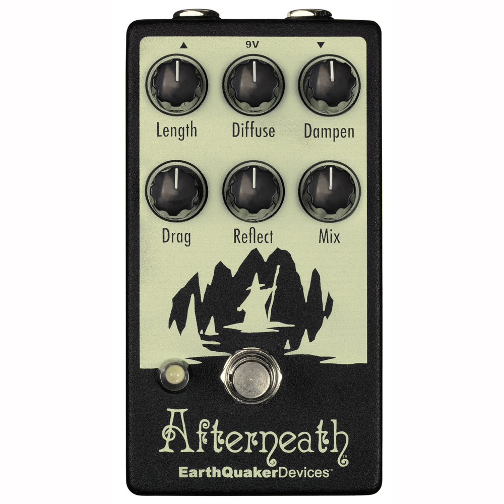 EarthQuaker Devices Afterneath リバーブ ギターエフェクター