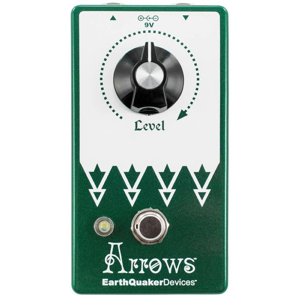 EarthQuaker Devices Arrows プリアンプ ブースター ギターエフェクター