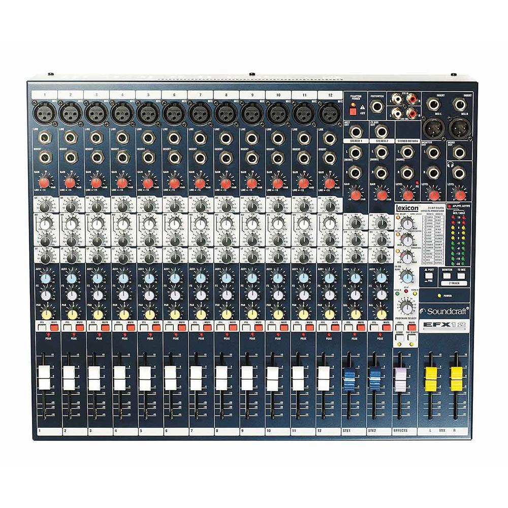 Soundcraft EFX12 アナログミキサー