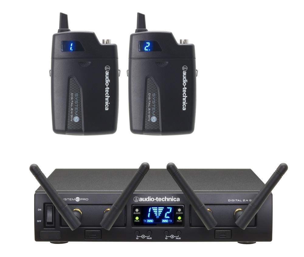AUDIO-TECHNICA ATW-1311 ラックマウント2chワイヤレスシステム