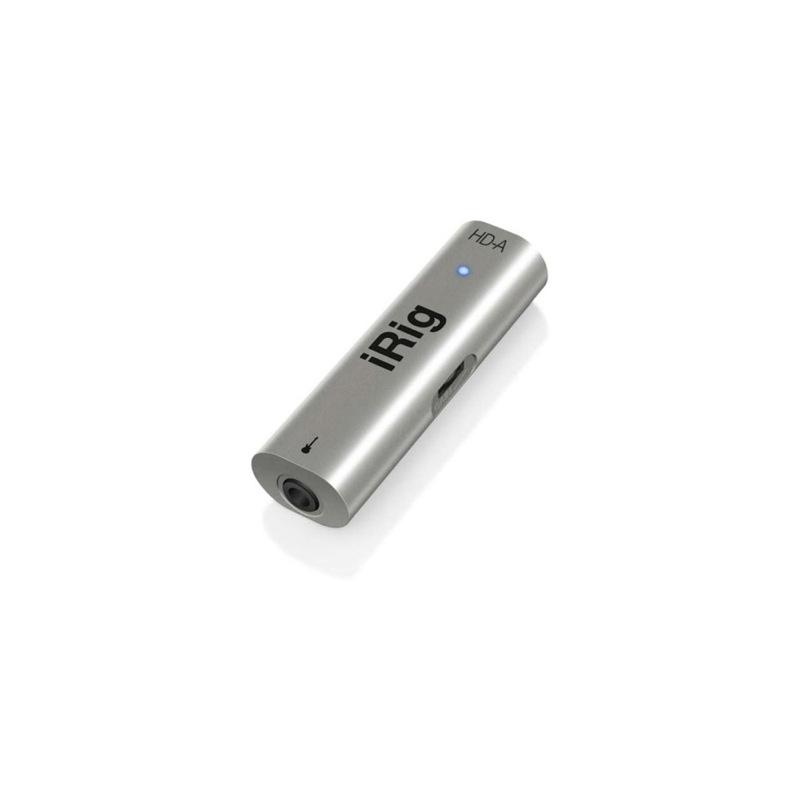 IK Multimedia iRig HD-A Android用オーディオインターフェイス