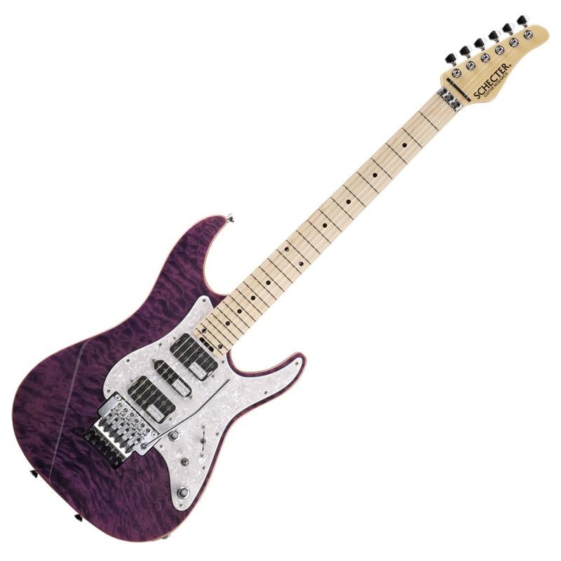 SCHECTER SD-2-24-AL PUR/M エレキギター
