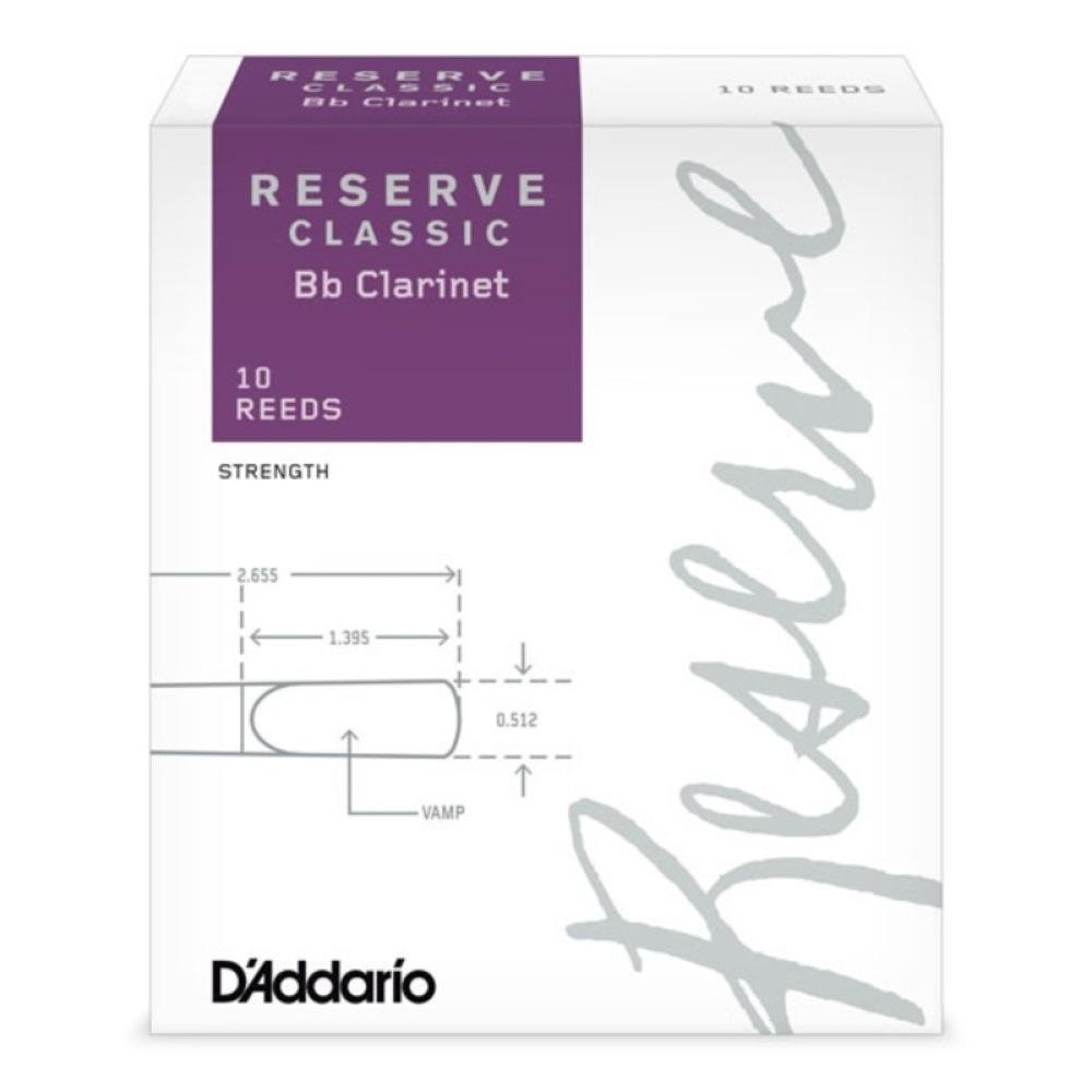 ダダリオウッドウィンズ リコ B♭クラリネット用リード 3 1 2 D'Addario お気に入り 安売り Woodwinds B♭クラリネットリード 3.5 RICO クラシック LDADRECLC3.5 レゼルヴ