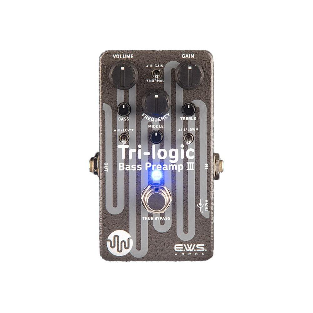 E.W.S. Tri-logic Bass Preamp 3 ベース用エフェクター