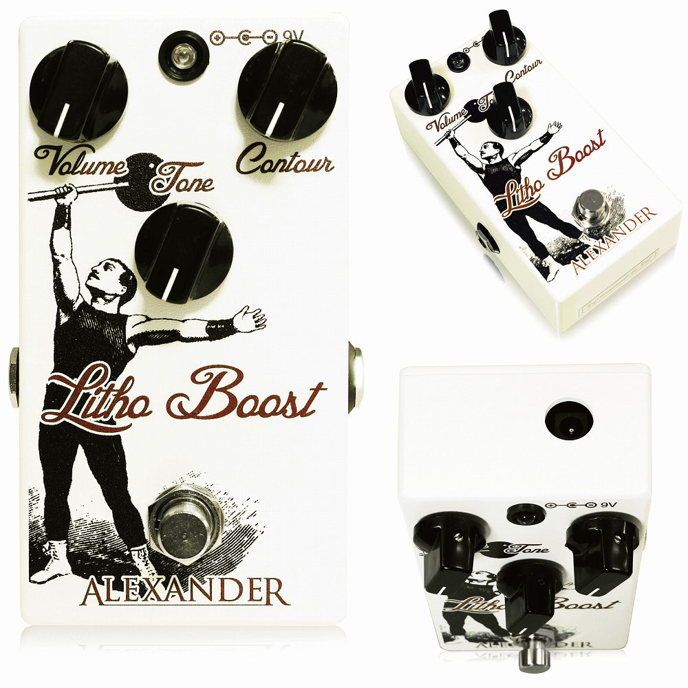 Alexander Pedals Litho Boost ブースター