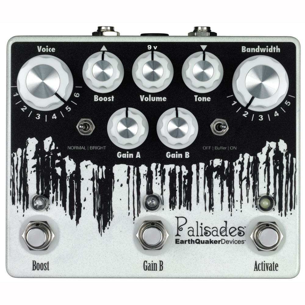 EarthQuaker Devices Palisades オーバードライブ ギターエフェクター