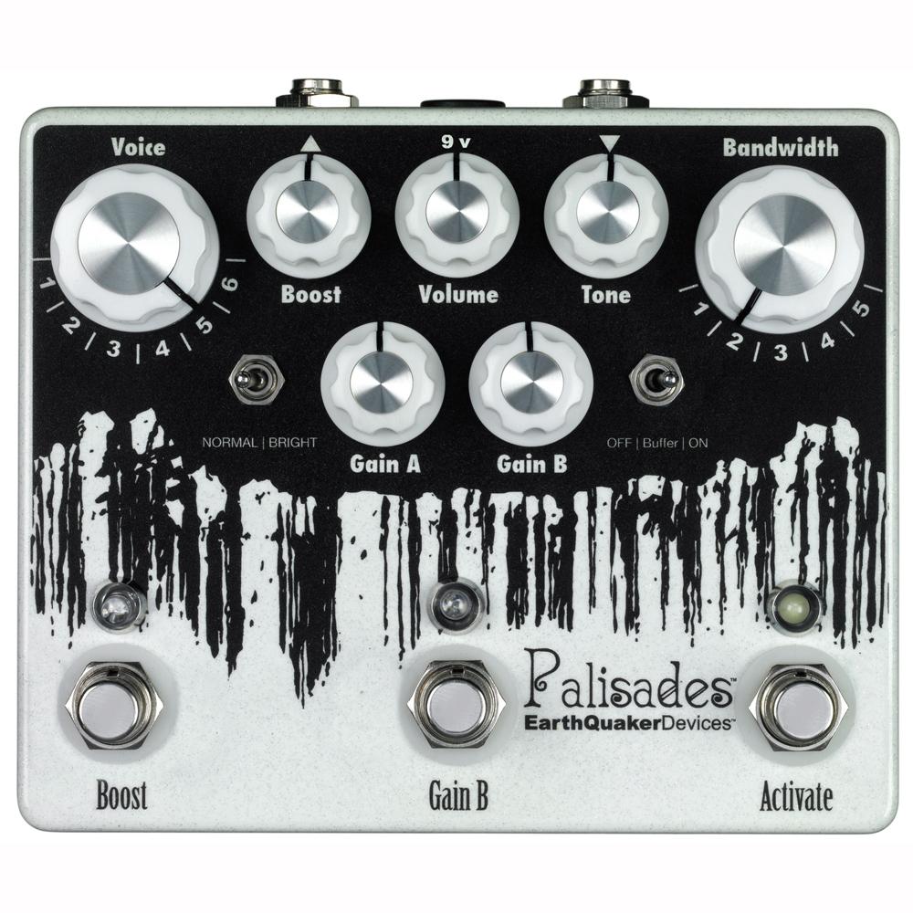 EarthQuaker Devices Palisades オーバードライブ ギターエフェクター