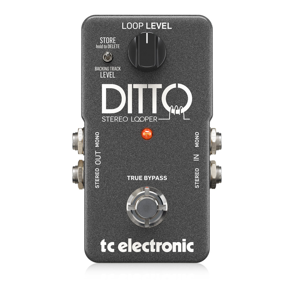 tc electronic Ditto Stereo Looper ルーパー