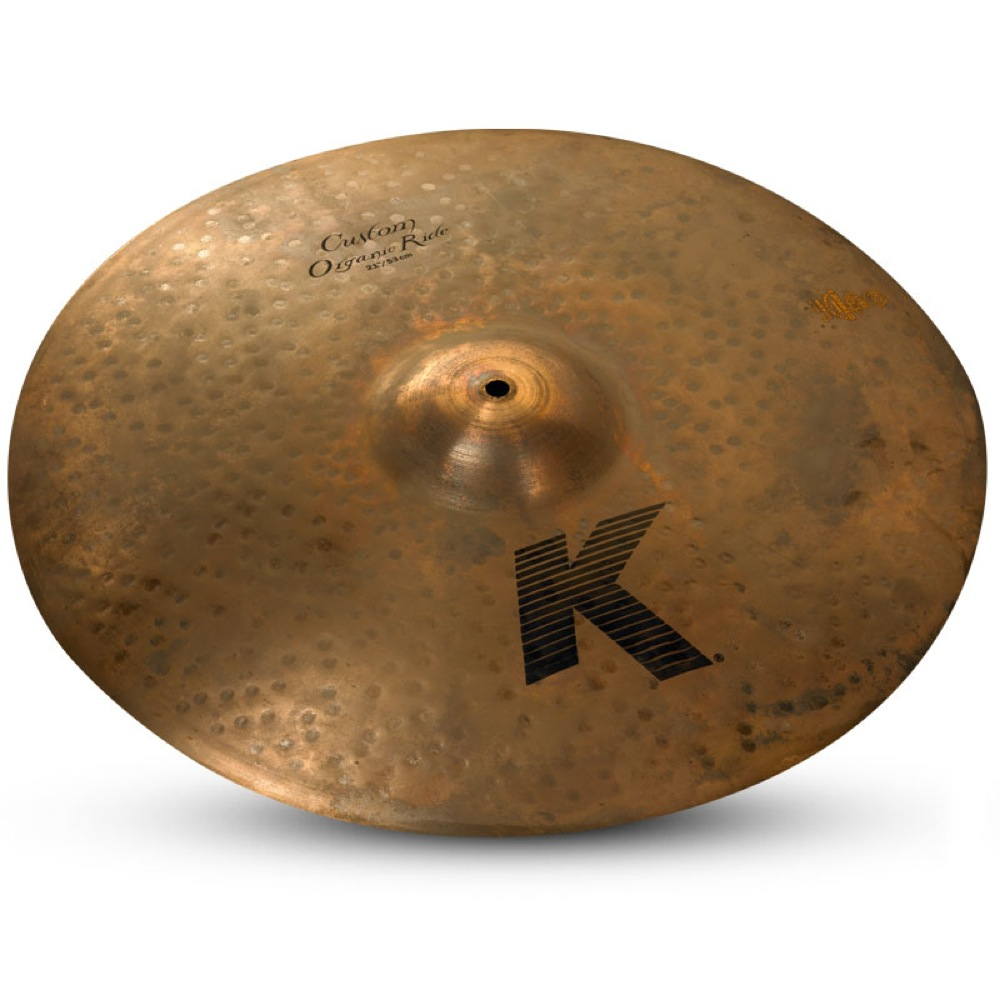 "ZILDJIAN K Custom ORGANIC RIDE 21"" ライドシンバル"