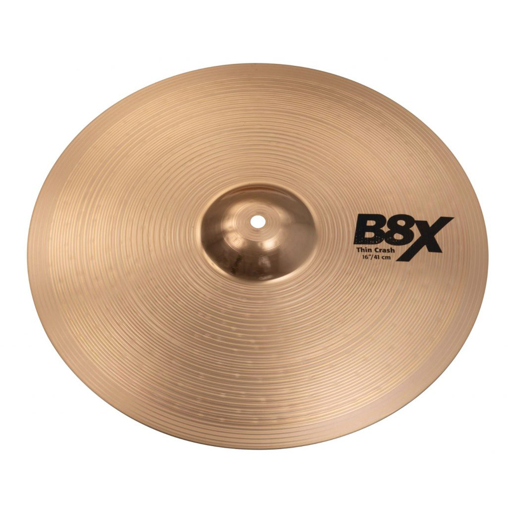 "SABIAN B8X-16RC B8 X Medium Heavy ROCK CRASH 16"" クラッシュシンバル"