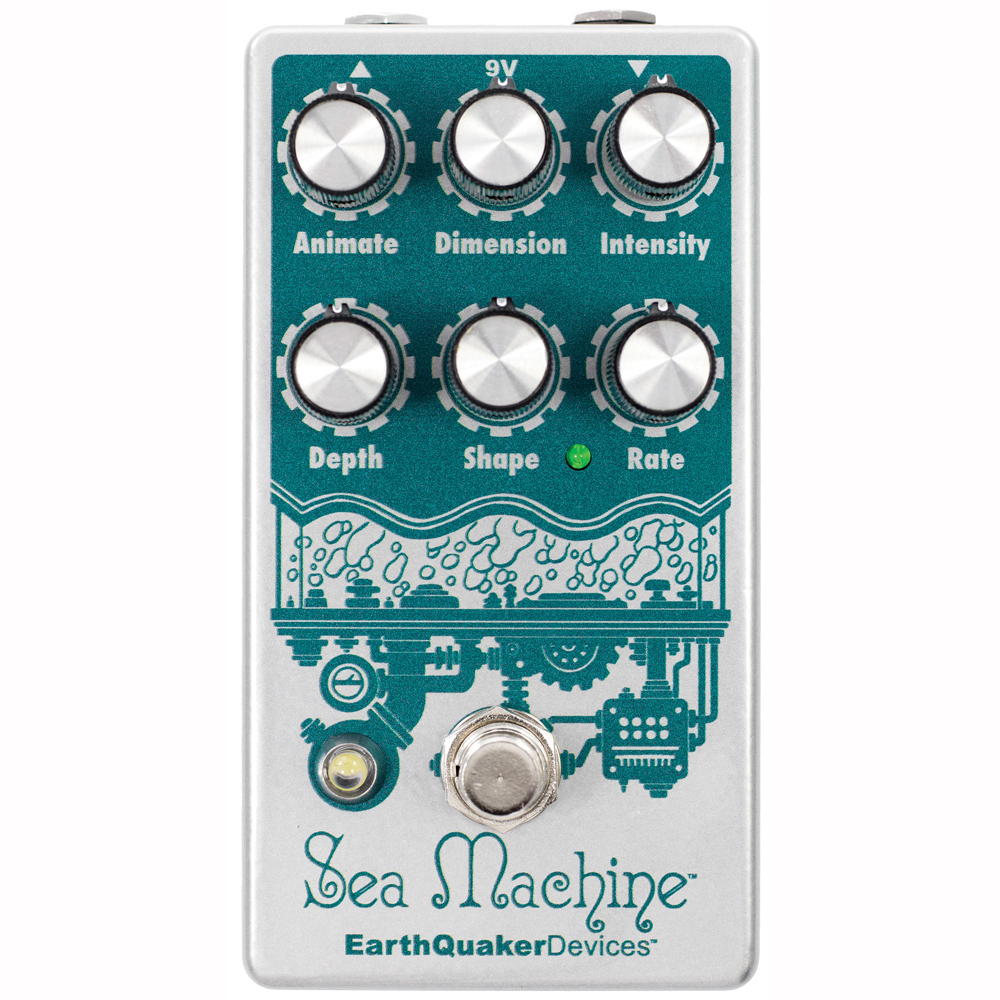 EarthQuaker Devices Sea Machine コーラス ギターエフェクター