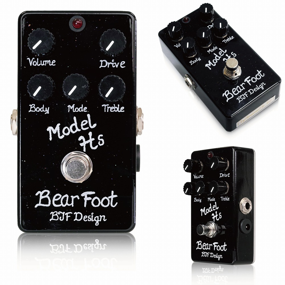 Bearfoot Guitar Effects Model Hs オーバードライブ