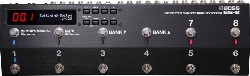 BOSS ES-8 Effects Switching System エフェクタースイッチングシステム