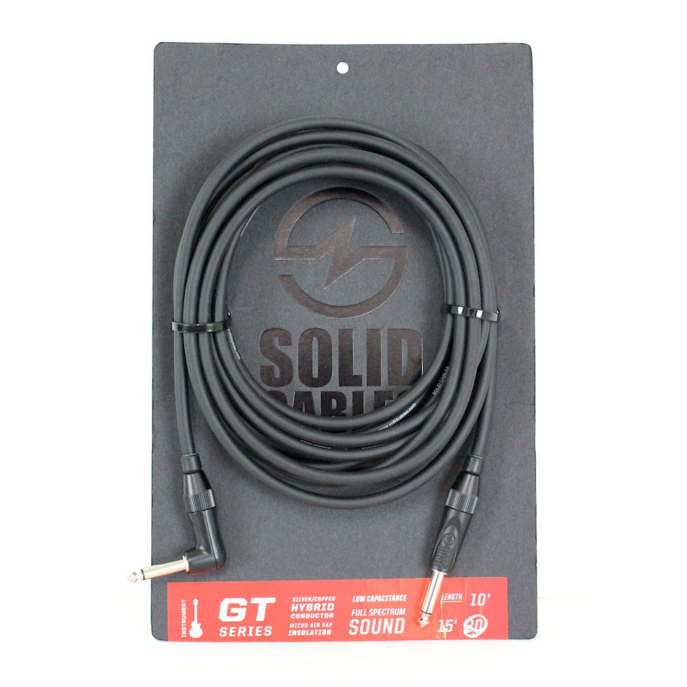 SOLID CABLES GT SERIES SL 20ft ギターケーブル