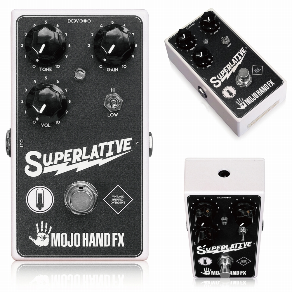 Mojo Hand Fx Superlative オーバードライブ